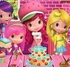Moranguinho e amigas decorar bolo