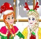 Natal moda Elsa e Anna