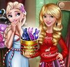 Natal roupas da Elsa