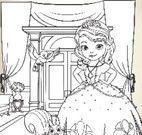 Pintar princesa Sofia