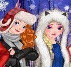 Princesas fotos de inverno