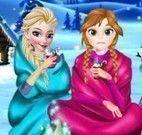 Roupas da neve Elsa e Anna