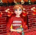 Vestir Anna natal e decorar