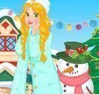 Vestir Rapunzel natal