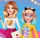 Amigas roupas princesas