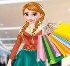Anna compras de roupas e sapatos