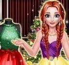 Anna costurar vestido
