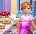 Anna decorar donuts
