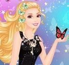 Barbie borboleta divã