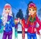 Frozen  esquiar moda