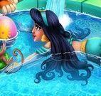 Jasmine na piscina