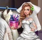 Menina noiva moda