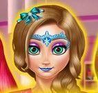 Pintar rosto das princesas