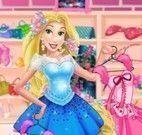 Princesa Rapunzel vestir