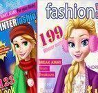 Princesas capas de revistas