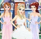 Princesas roupas da virada do ano