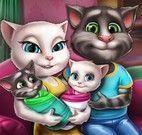 Tom e Angela família