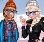 Anna e Elsa inverno