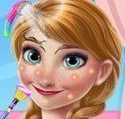 Anna limpeza facial Frozen