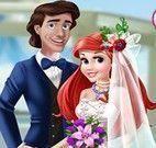 Ariel vestido de casamento