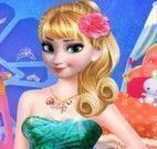Decorar castelo da Elsa e vestir