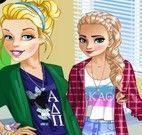 Moda das princesas amigas
