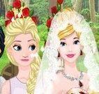 Princesa noiva clássica e emo