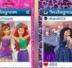 Princesas e vilãs na selfie