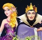 Vilãs e princesas moda