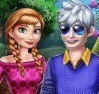 Anna e Jack passeio no parque