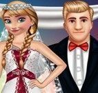 Kristoff e Anna casamento