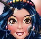 Maquiagem modelo da revista