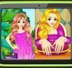 Rapunzel unhas pintadas