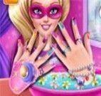 Superhero Doll Manicure