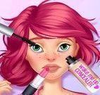 Tratamento de pele menina