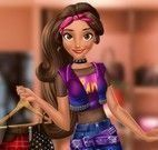 Princesa Moana maquiagem e moda