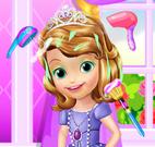 Princesa Sofia banho