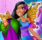 Vestido da princesa fada