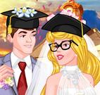 Casamento da Aurora estudante