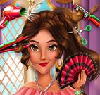 Elena princesa cabeleireiro