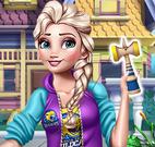 Elsa brinquedos do Pokemon