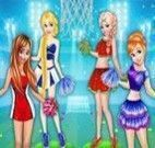 Princesses Basketball Team Cheerleader