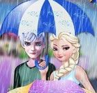 Decorar guarda chuva da Elsa