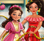 Princesa Elena costurar