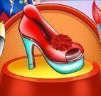 Anna decorar sapato