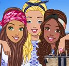 Barbie e amigas na Grécia