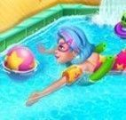 Galaxy Girl Swimming Pool