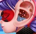 Cuidar do ouvido da Ladybug