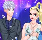 Princesa Elsa e o príncipe Jack