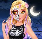 Maquiagem do Halloween para meninas